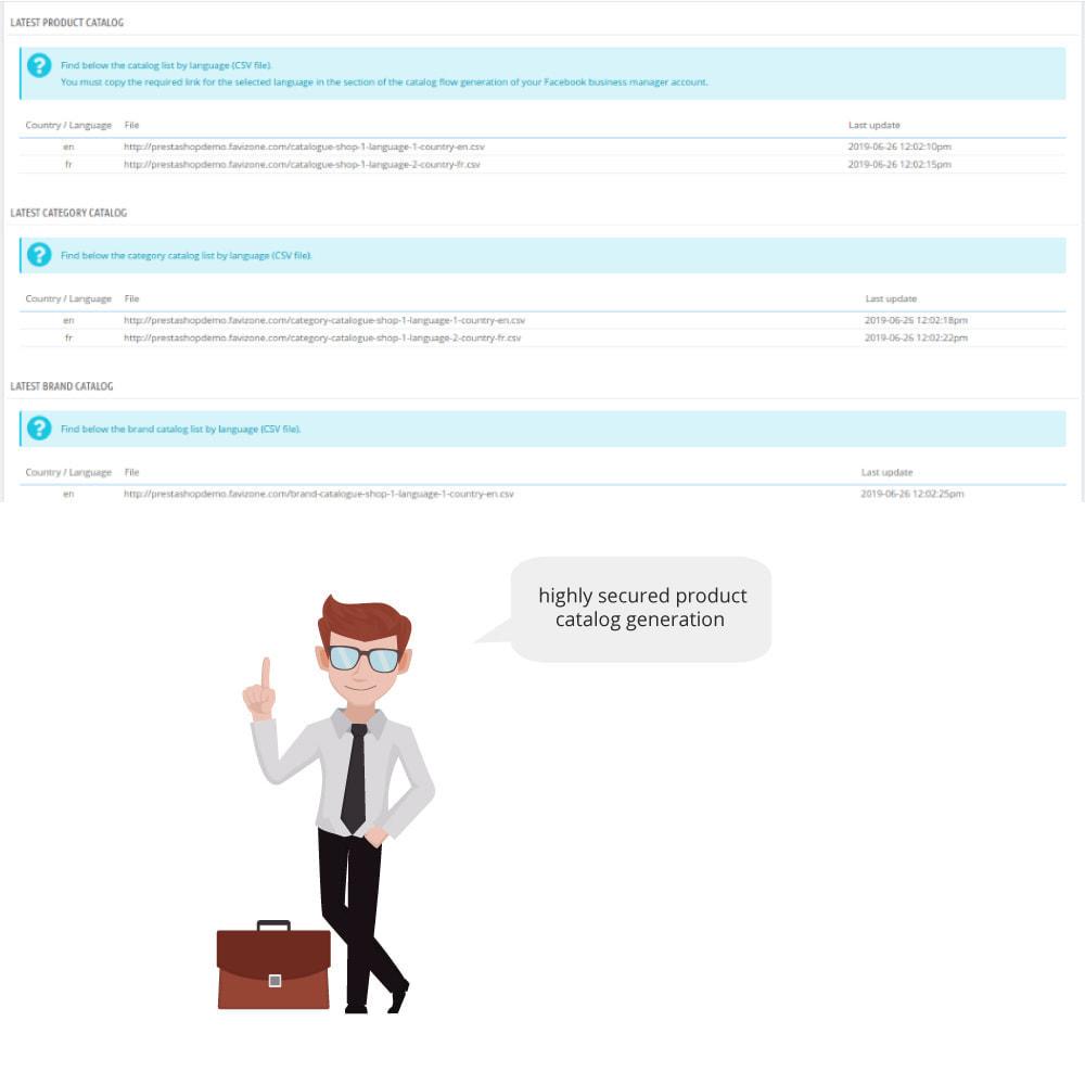 module - Productos en Facebook & redes sociales - Catalog & Pixel for Dynamic Ads & Shop - 2
