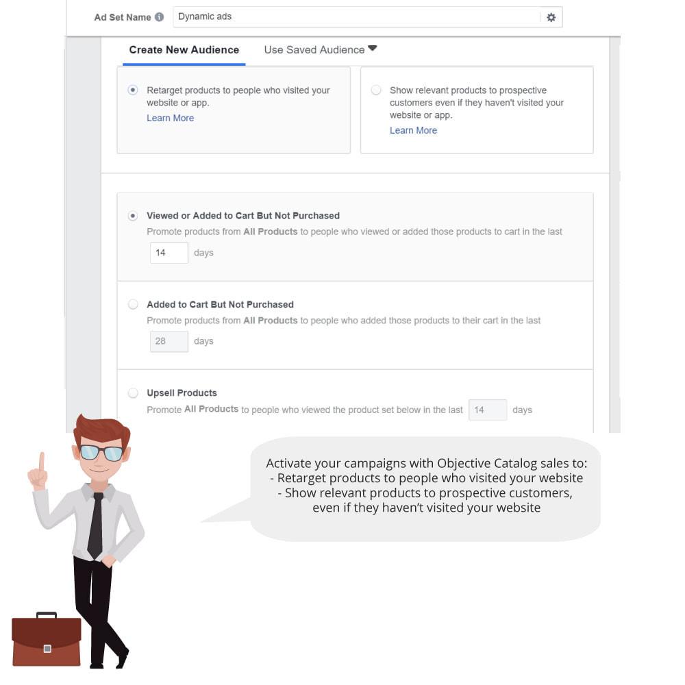 module - Productos en Facebook & redes sociales - Catalog & Pixel for Dynamic Ads & Shop - 3