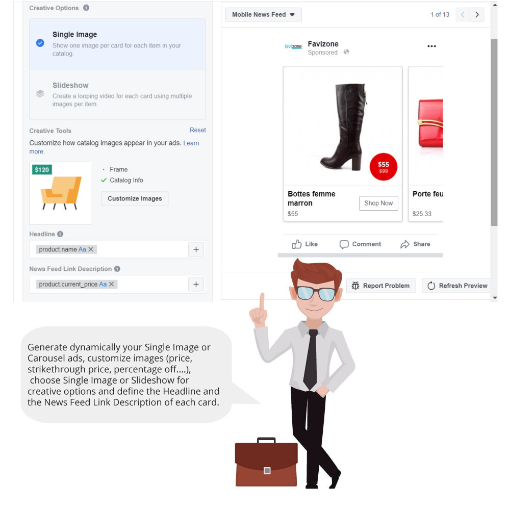 module - Productos en Facebook & redes sociales - Catalog & Pixel for Dynamic Ads & Shop - 5
