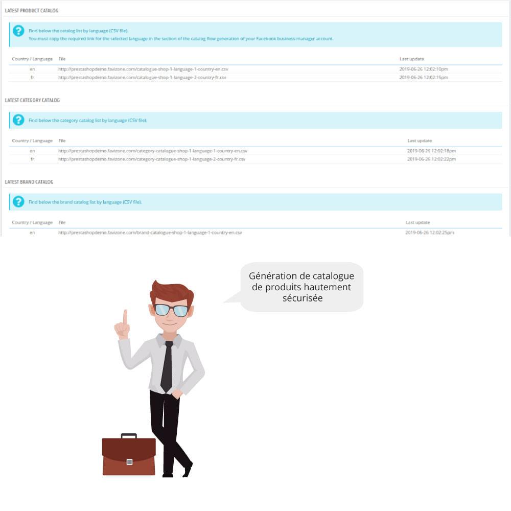 module - Produits sur Facebook & réseaux sociaux - Catalogue & Pixel pour Dynamic Ads & Boutique - 2