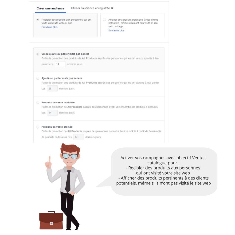 module - Produits sur Facebook & réseaux sociaux - Catalogue & Pixel pour Dynamic Ads & Boutique - 3