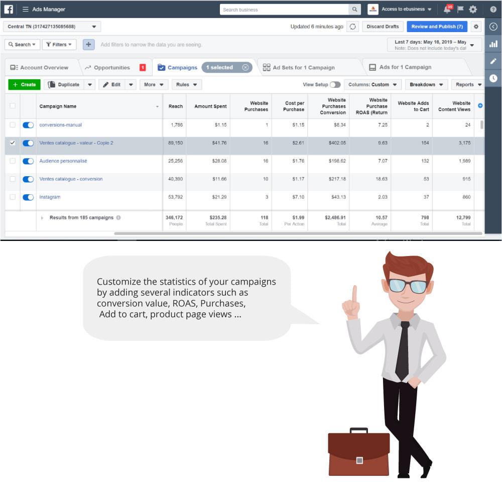 module - Productos en Facebook & redes sociales - Catalog & Pixel for Dynamic Ads & Shop - 7