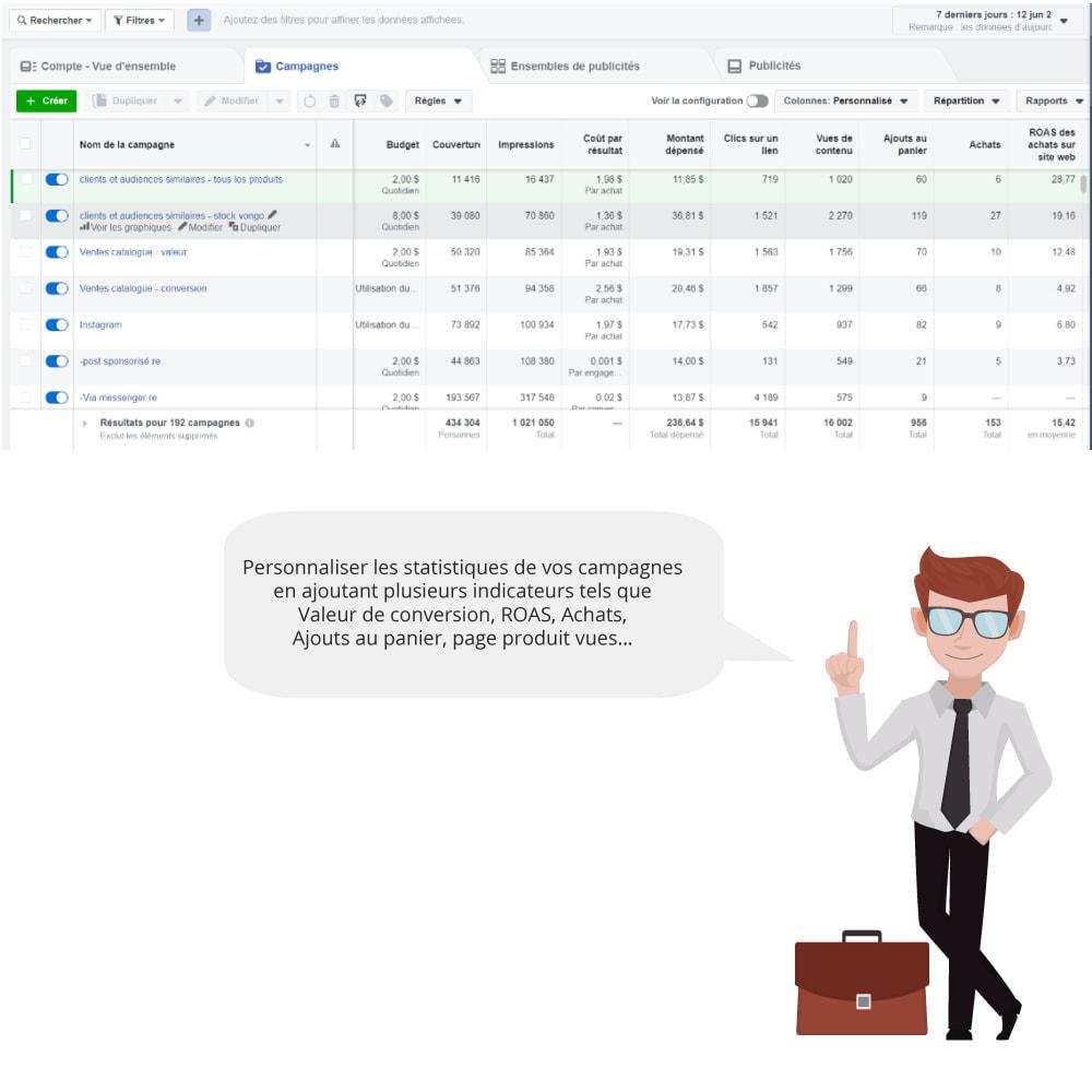 module - Produits sur Facebook & réseaux sociaux - Catalogue & Pixel pour Dynamic Ads & Boutique - 7