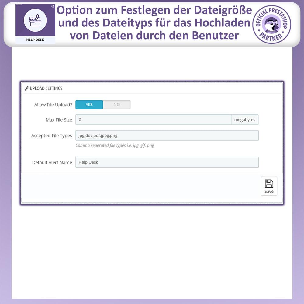 module - Kundenservice - Helpdesk – Kundensupport Verwaltungssystem-Module - 7