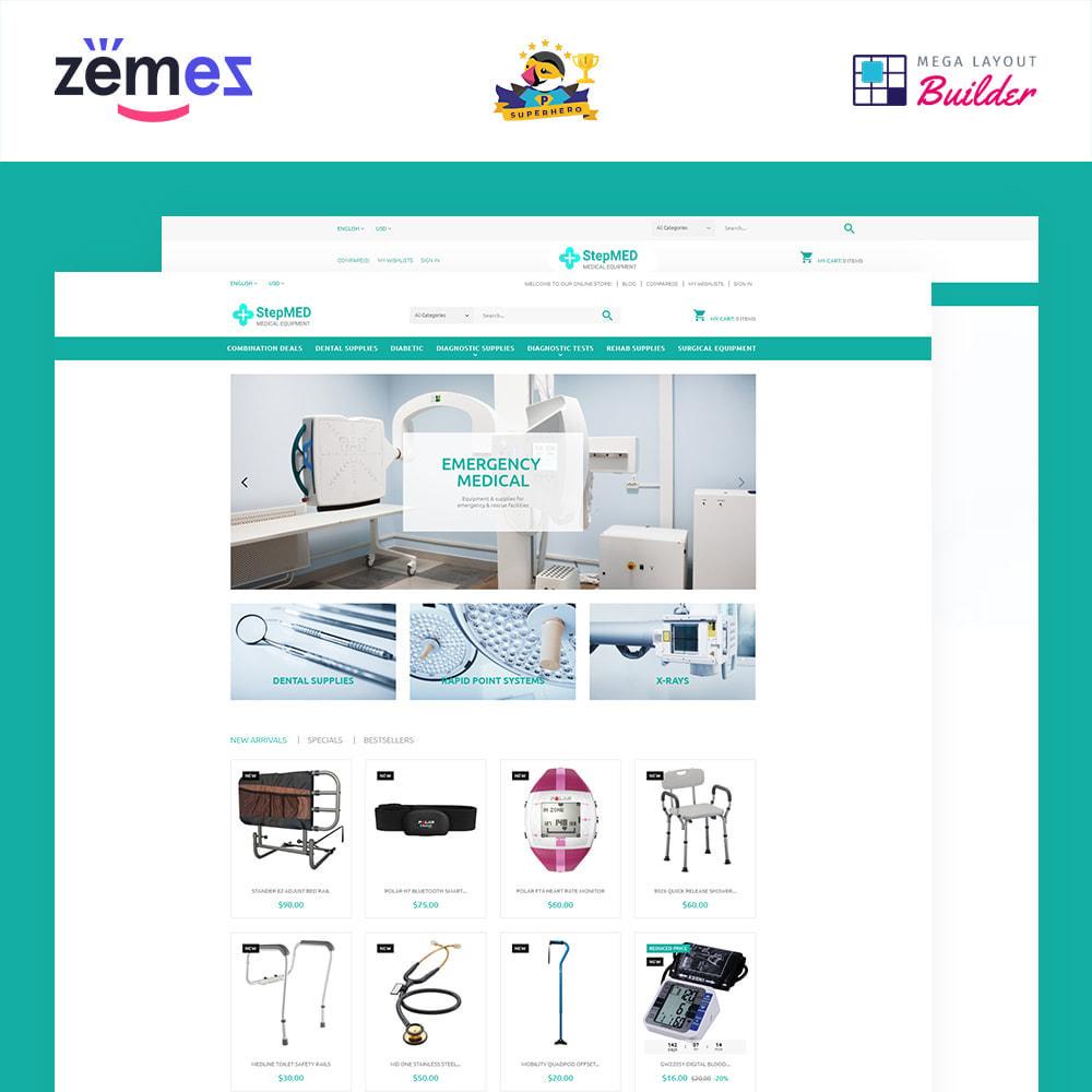 theme - Santé & Beauté - StepMED - Medical Equipment Store - 1