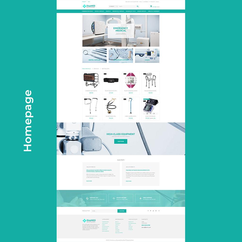 theme - Santé & Beauté - StepMED - Medical Equipment Store - 3