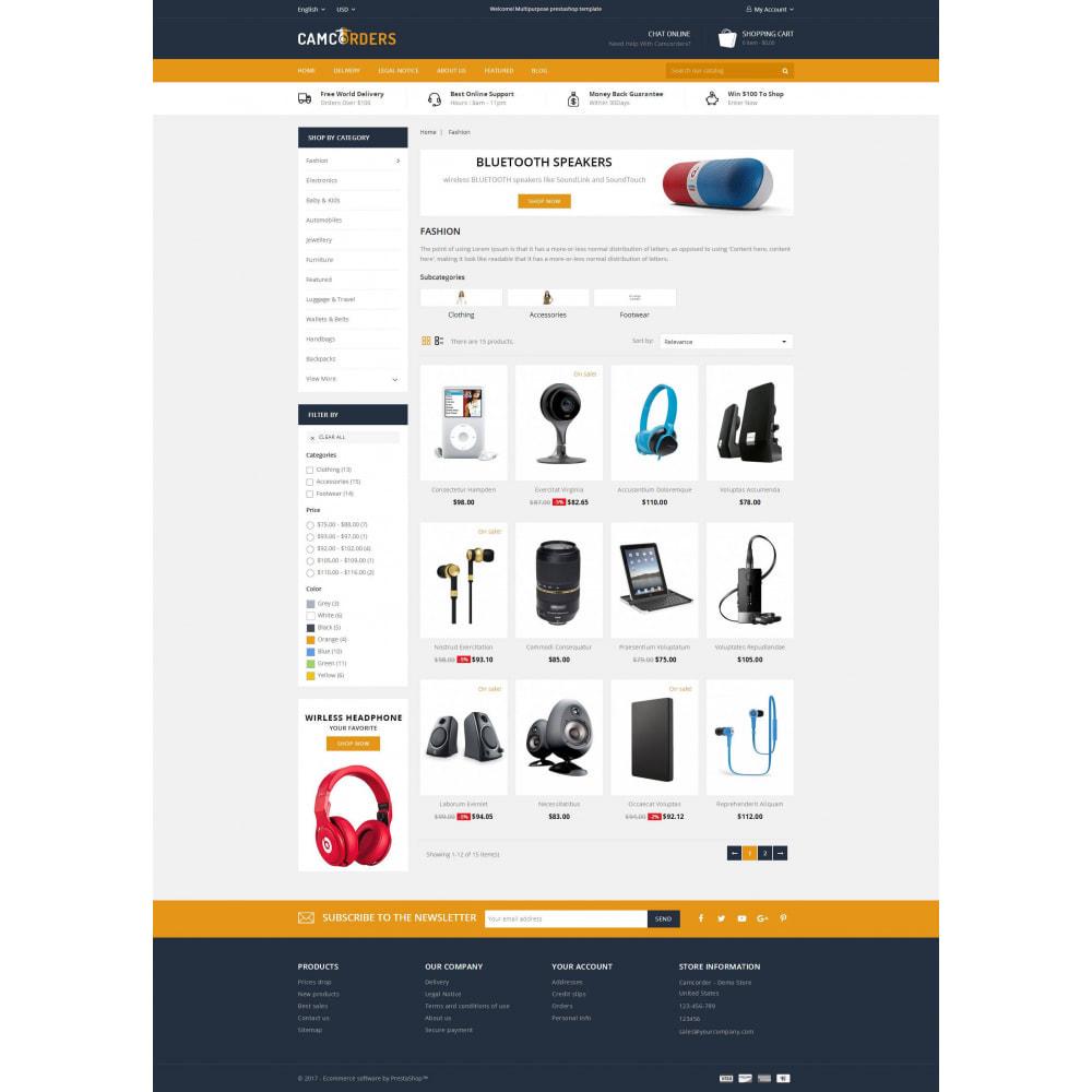 theme - Elektronika & High Tech - Camcorder - Electronic Store - 3