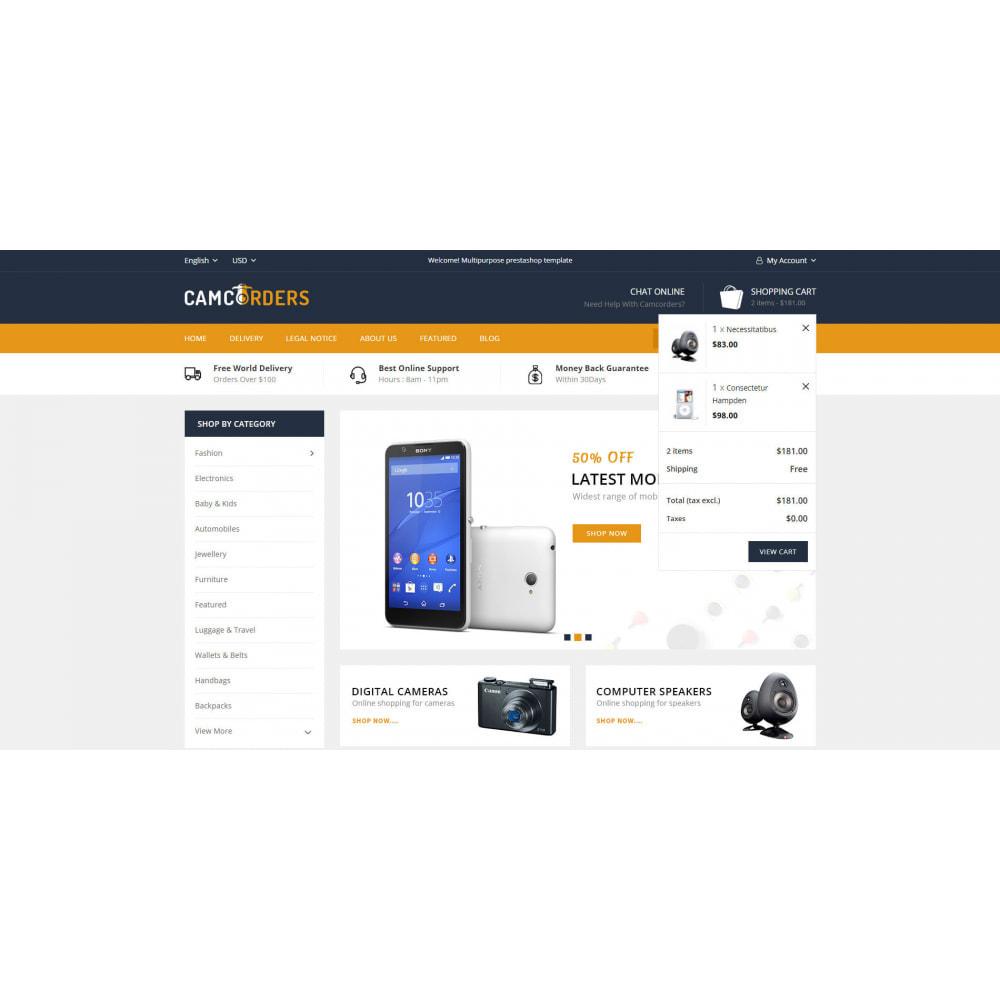 theme - Elektronika & High Tech - Camcorder - Electronic Store - 6