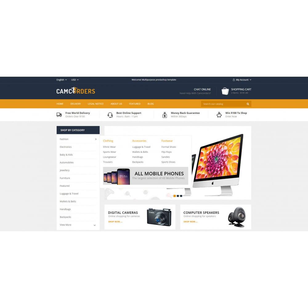 theme - Elektronika & High Tech - Camcorder - Electronic Store - 8