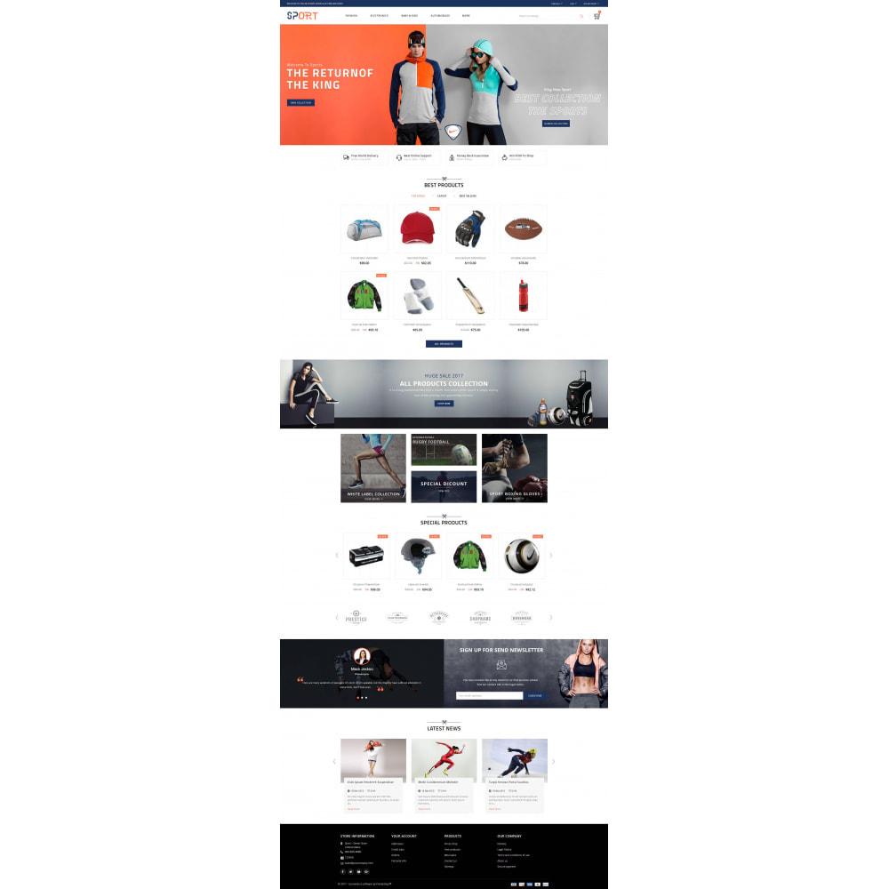 theme - Sports, Activities & Travel - Sports Kit Store - 2