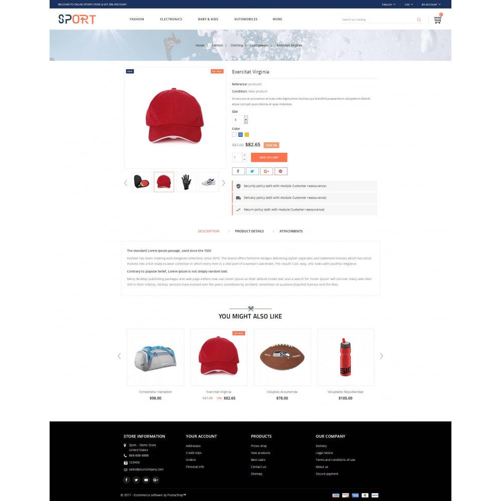 theme - Sports, Activities & Travel - Sports Kit Store - 5