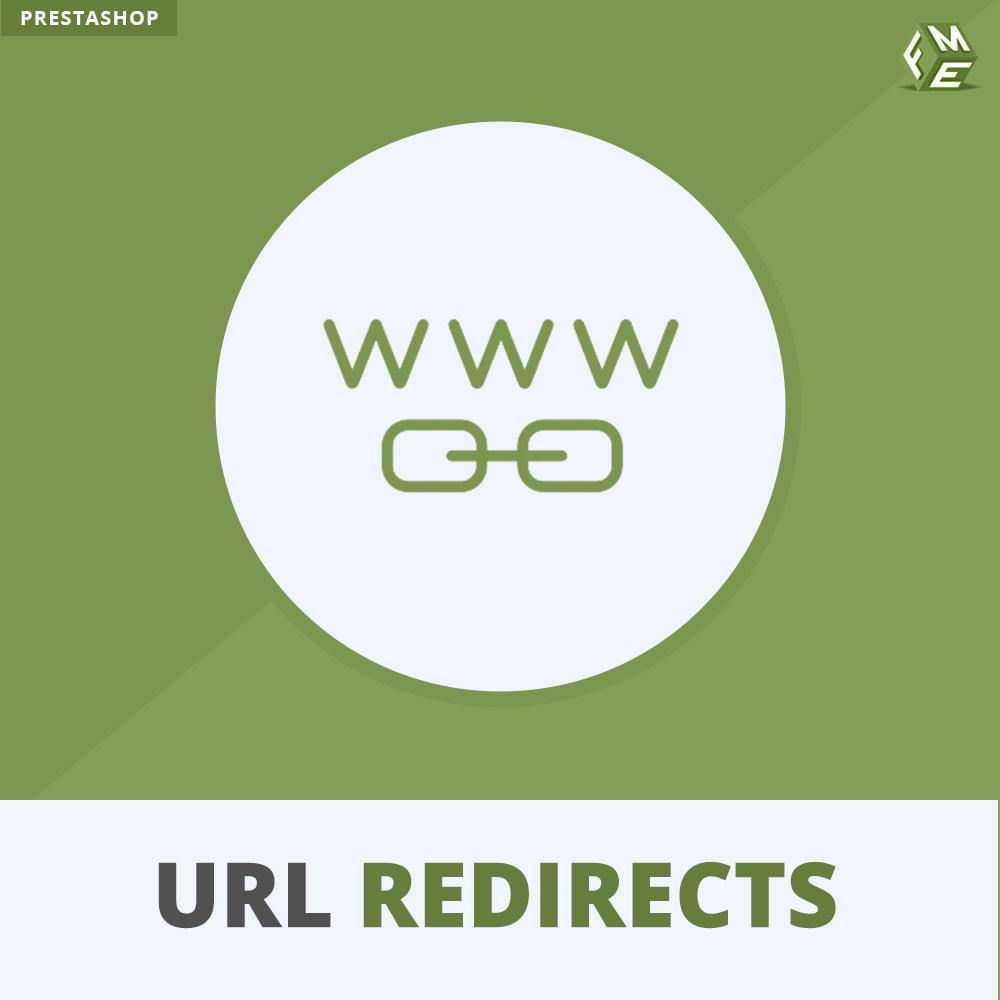 module - Gestão de URL & Redirecionamento - URL Redirect -Manage 301, 302, 303 redirects & 404 URLs - 1