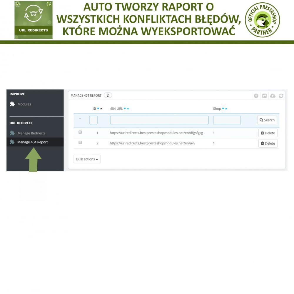 module - URL & Przekierowania - Przekierowania URL – 301, 302, 303 i 404 URLs - 5