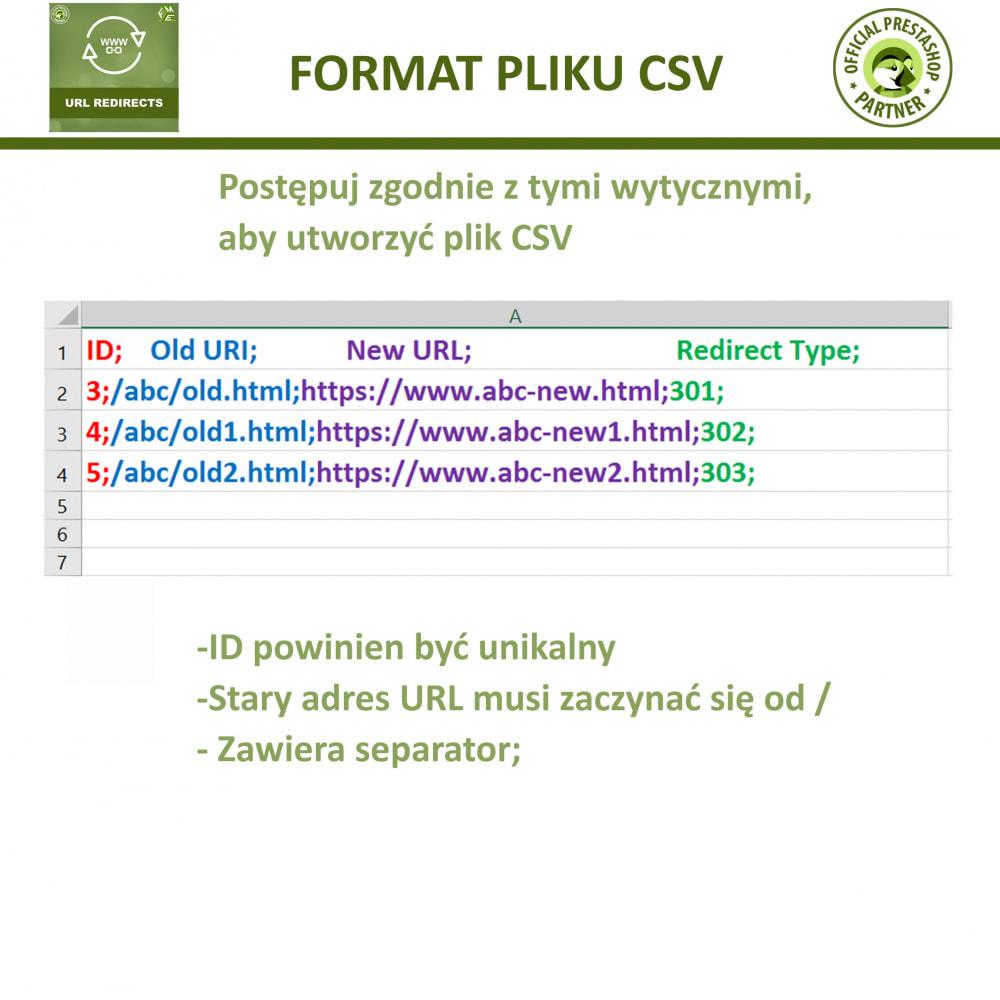 module - URL & Przekierowania - Przekierowania URL – 301, 302, 303 i 404 URLs - 6
