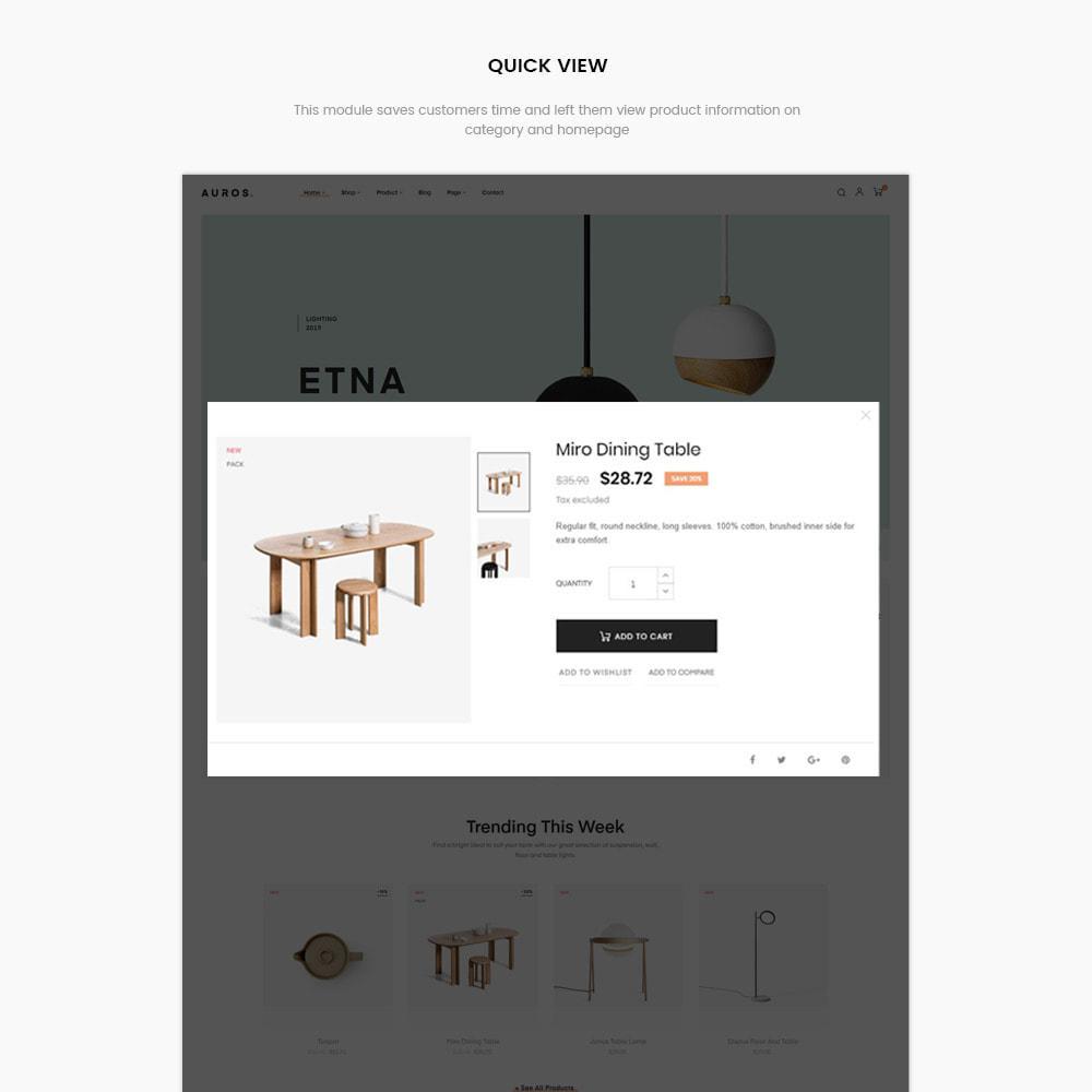 theme - Dom & Ogród - Auros Minimal - Furniture & Interior Home Decor - 9