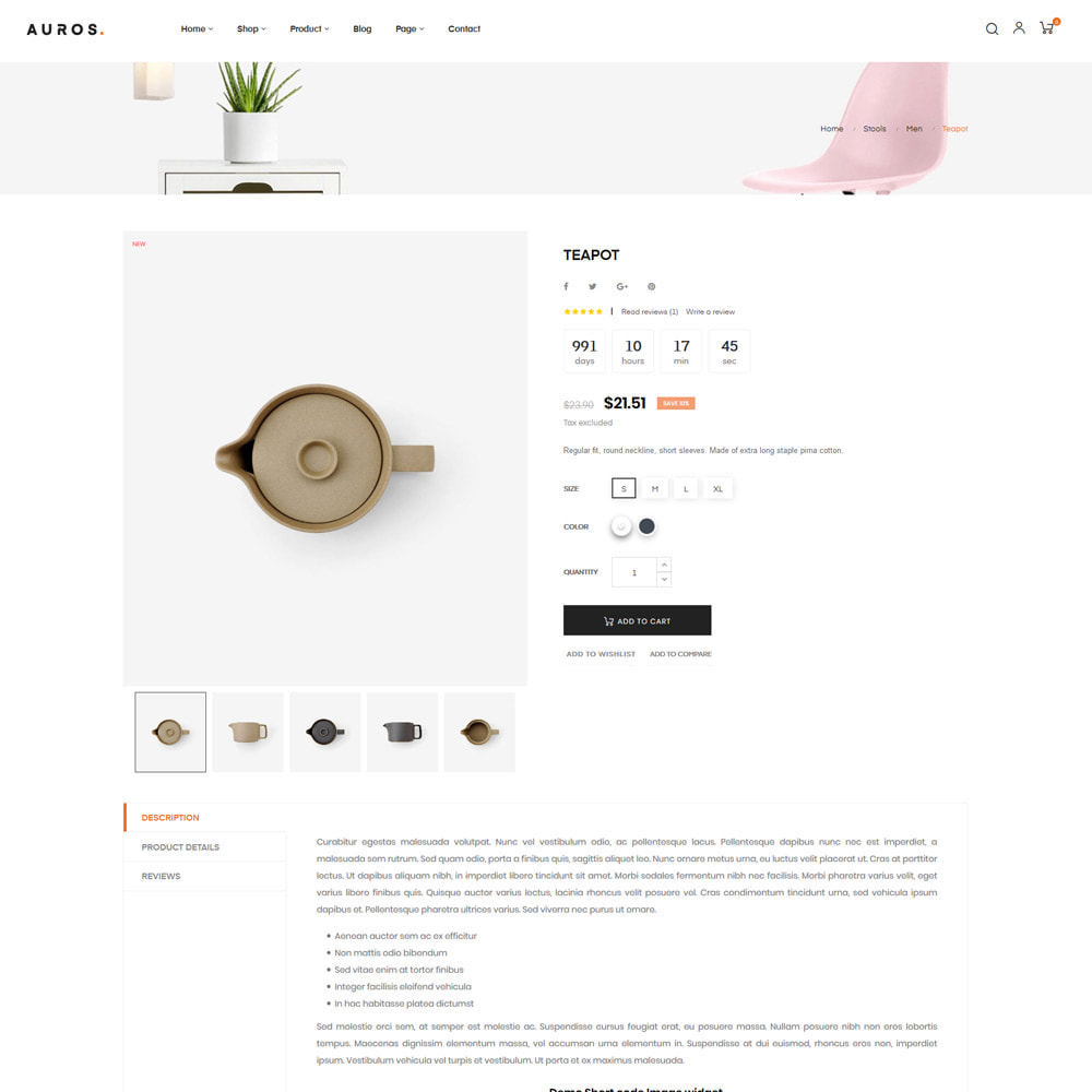 theme - Dom & Ogród - Auros Minimal - Furniture & Interior Home Decor - 11