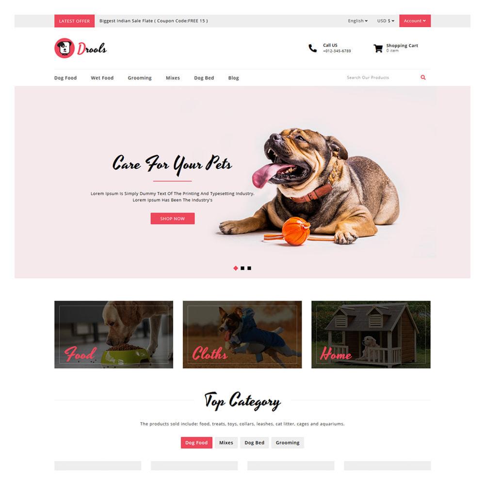 theme - Zwierzęta - Drools Animals & Pet Store - 2