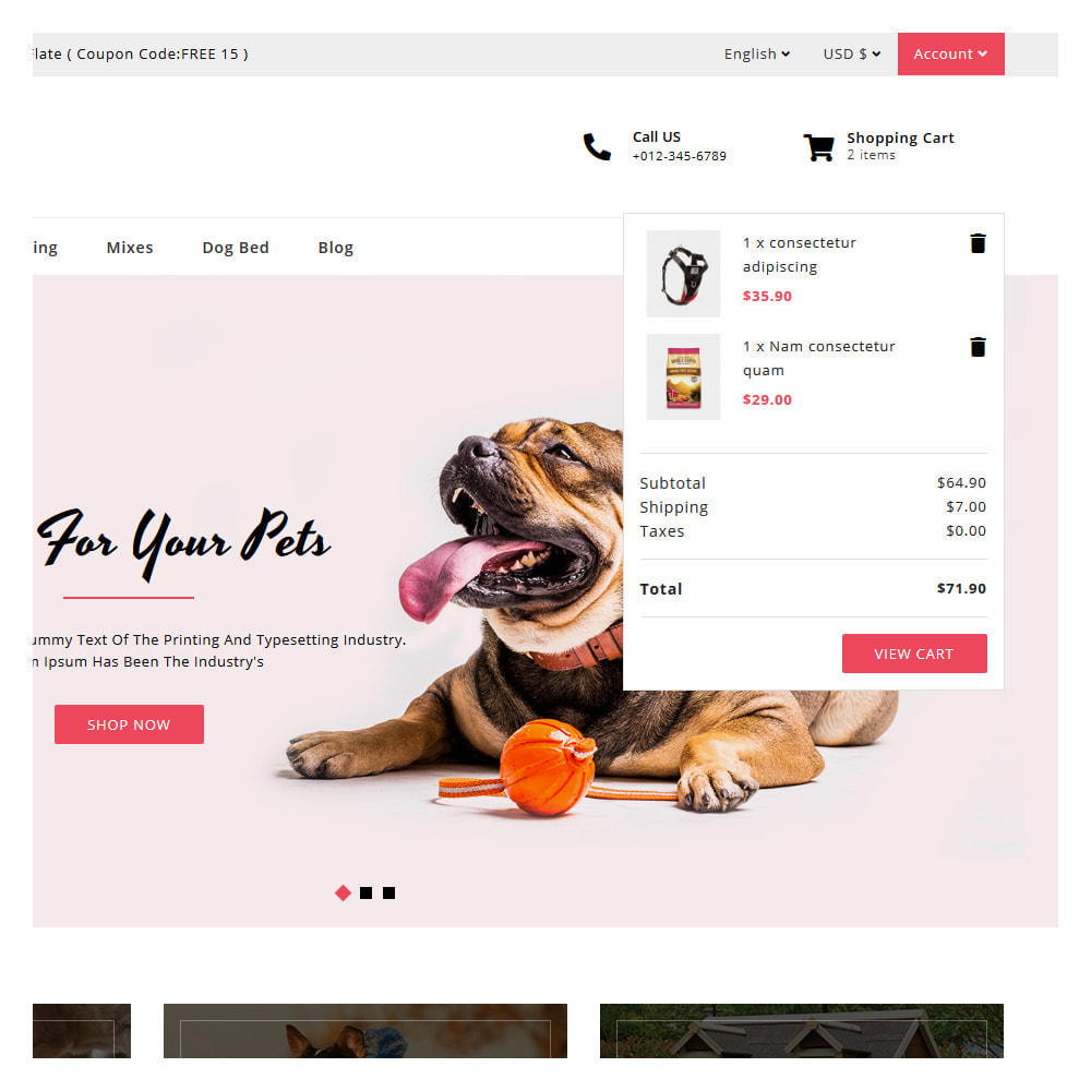 theme - Zwierzęta - Drools Animals & Pet Store - 6
