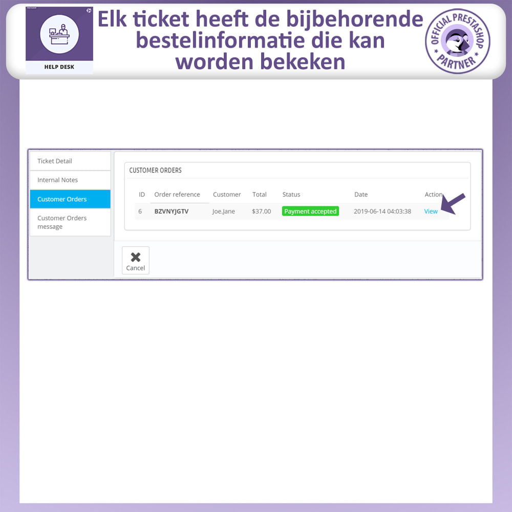 module - Klantenservice - Help Desk – Klantensupport Management Systeemmodule - 12