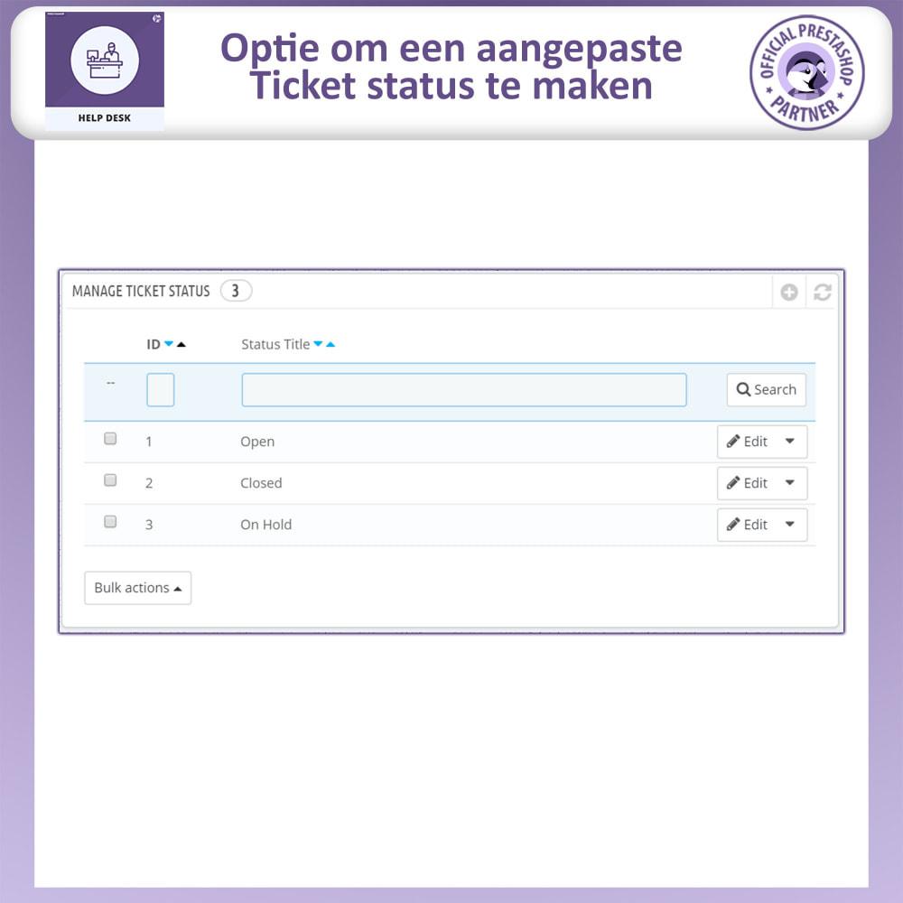 module - Klantenservice - Help Desk – Klantensupport Management Systeemmodule - 14