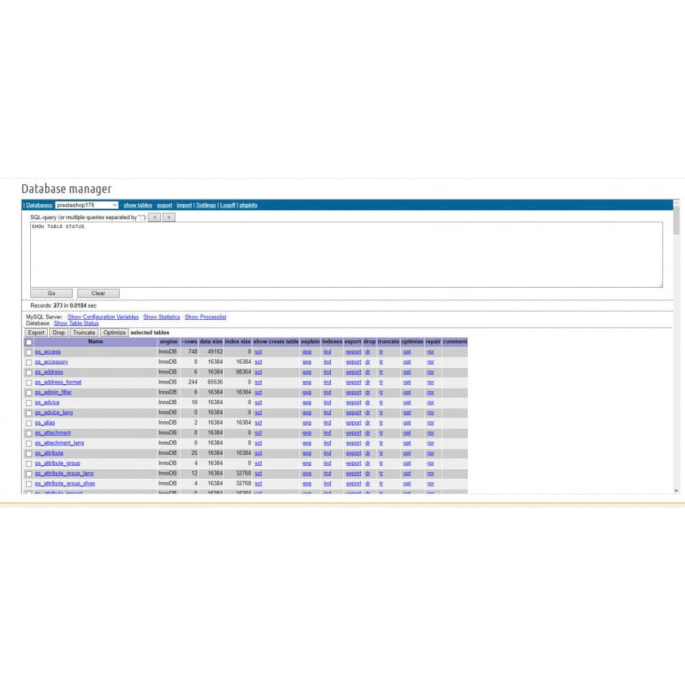 module - Herramientas Administrativas - Ajax File / Database Manager - 3