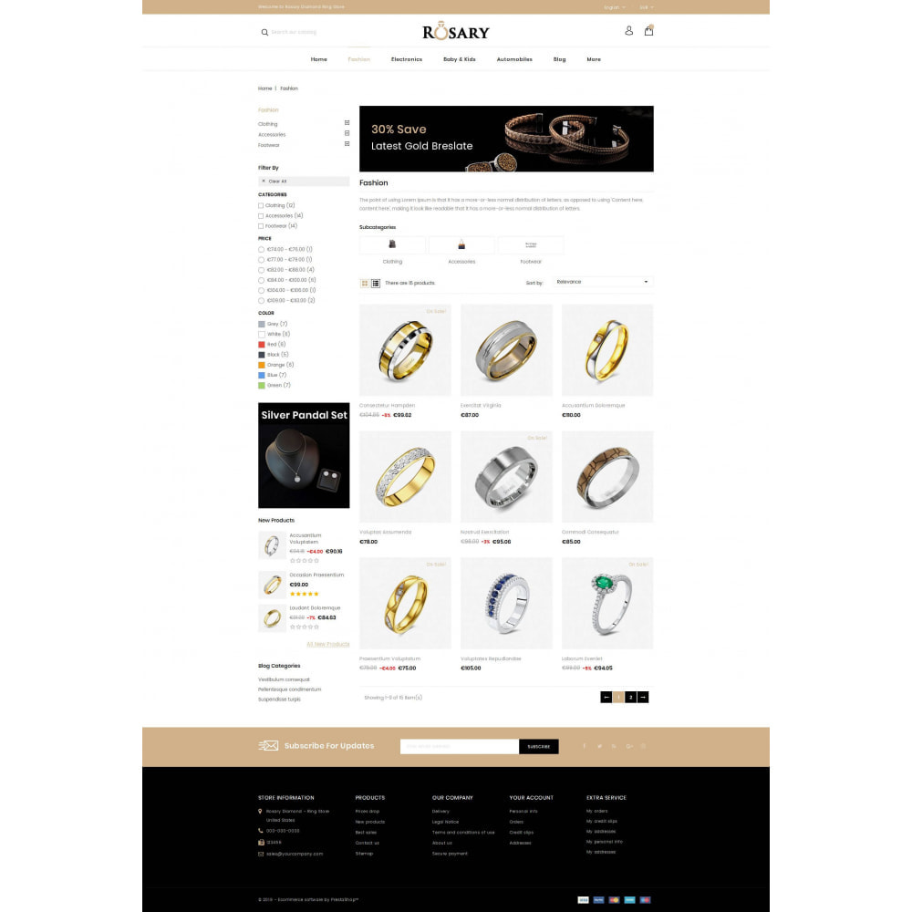 theme - Biżuteria & Akcesoria - Rosary Diamond Store - 3