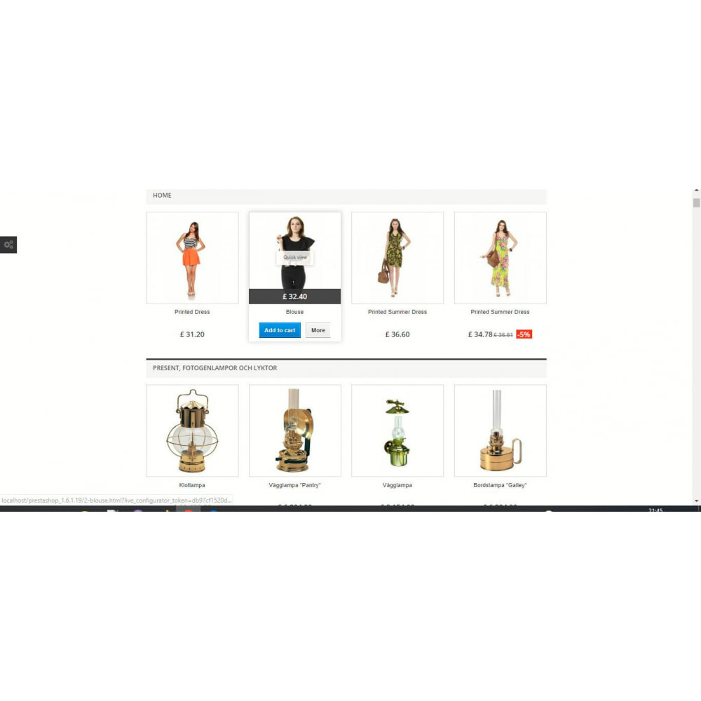 module - Produits en page d'accueil - Featured products grouped by category - 1