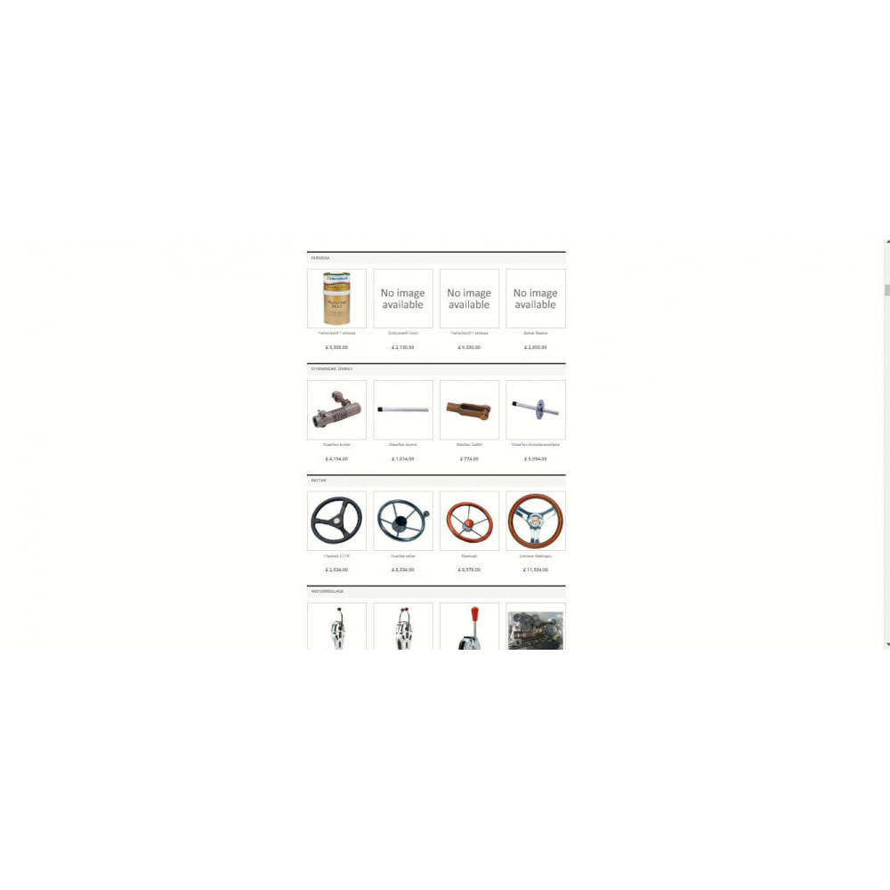 module - Produits en page d'accueil - Featured products grouped by category - 3