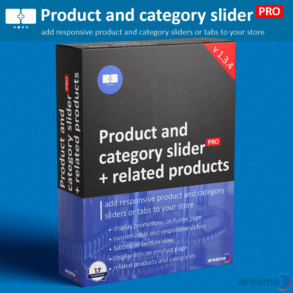 module - Zusatzinformationen & Produkt-Tabs - Product slider PRO + categories + related products - 1