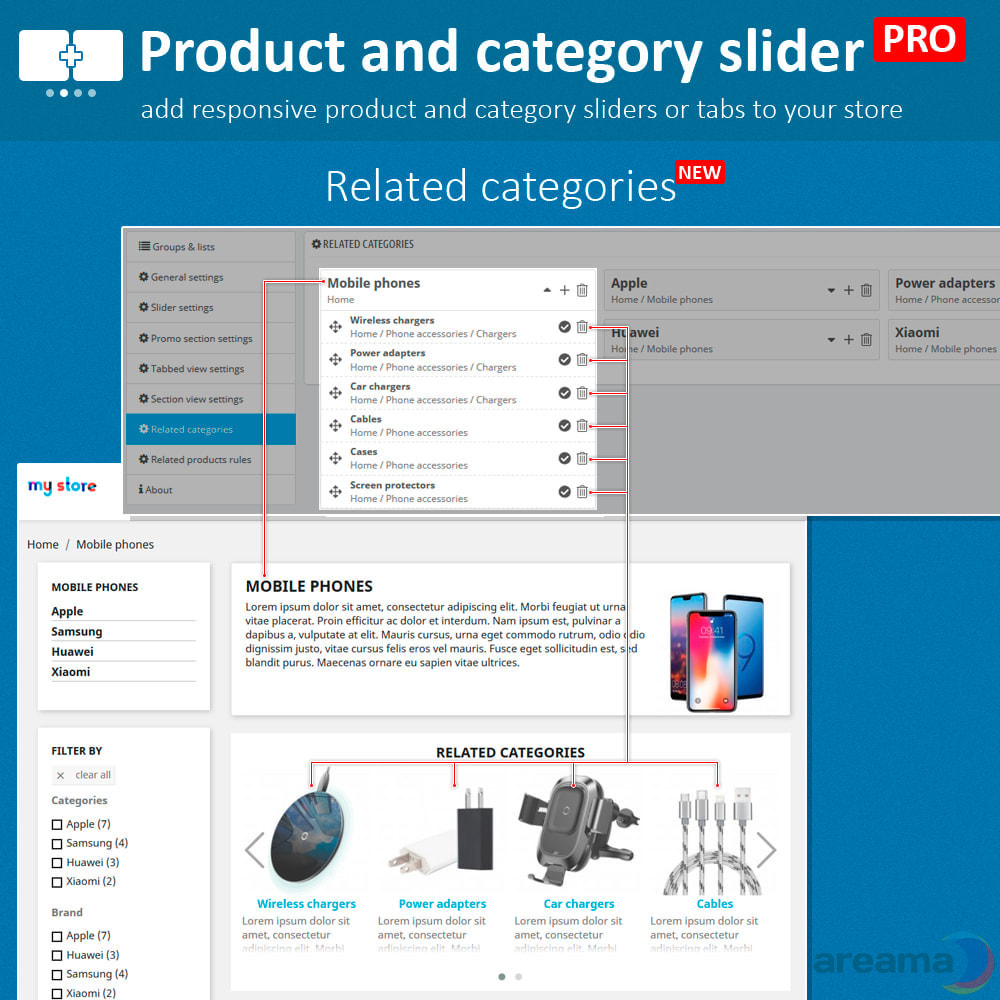 module - Zusatzinformationen & Produkt-Tabs - Product slider PRO + categories + related products - 11