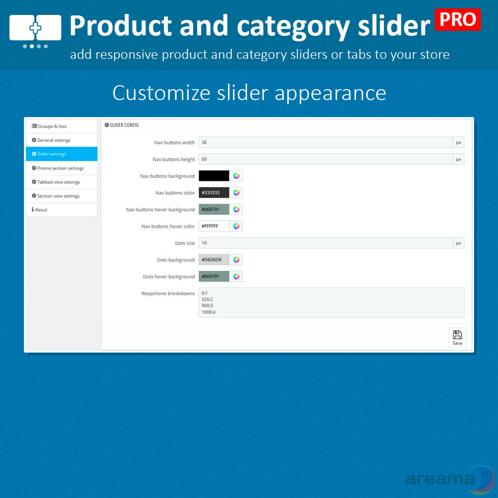 module - Zusatzinformationen & Produkt-Tabs - Product slider PRO + categories + related products - 15