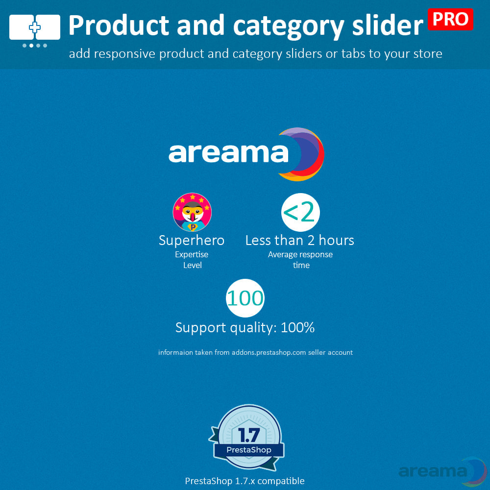 module - Zusatzinformationen & Produkt-Tabs - Product slider PRO + categories + related products - 19