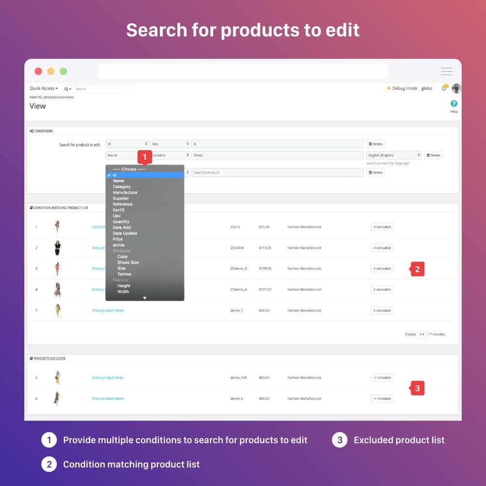 module - Fast & Mass Update - Bulk edit products | mass edit | quick edit - 4