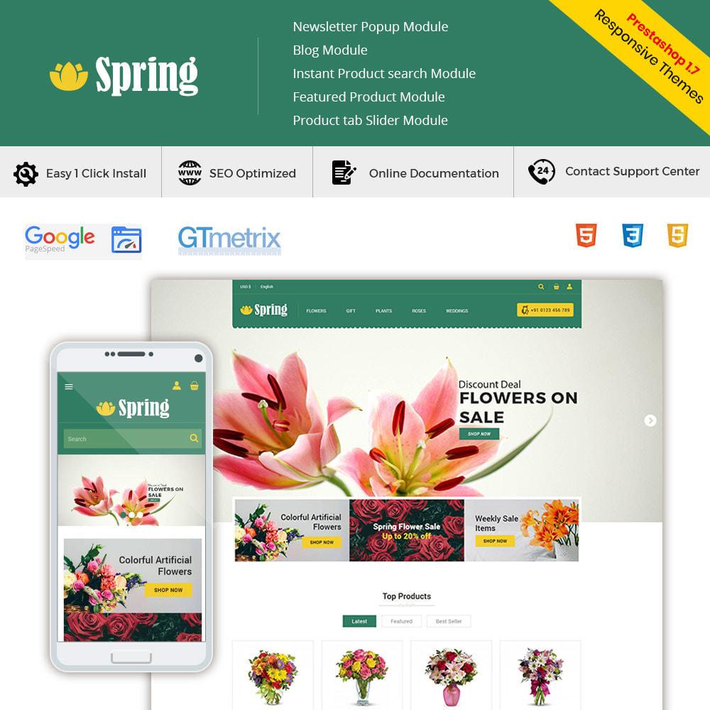 theme - Prezenty, Kwiaty & Uroczystości - Spring Flower - Valentine Gift Store - 1