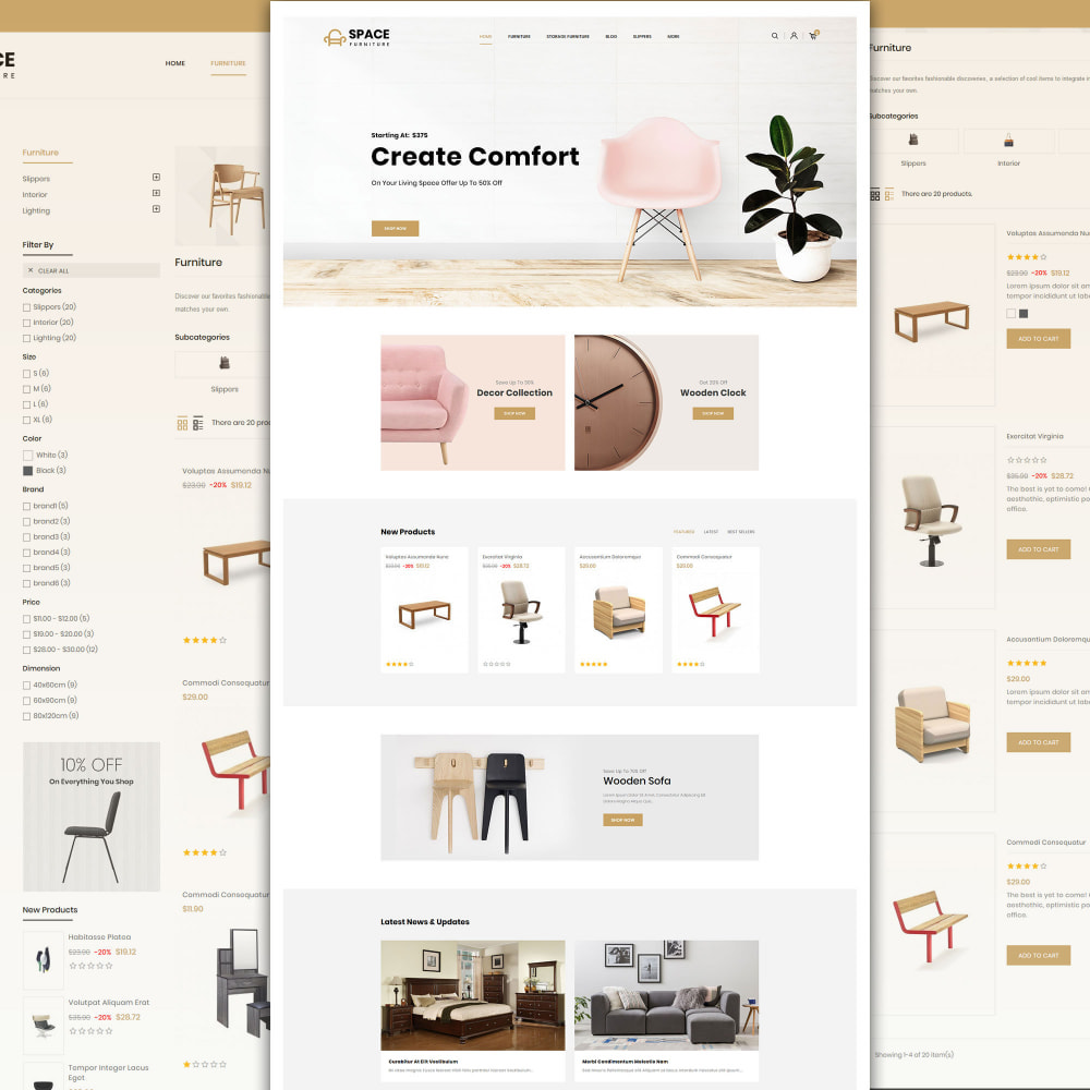 theme - Maison & Jardin - Space - Online Furniture Store - 3