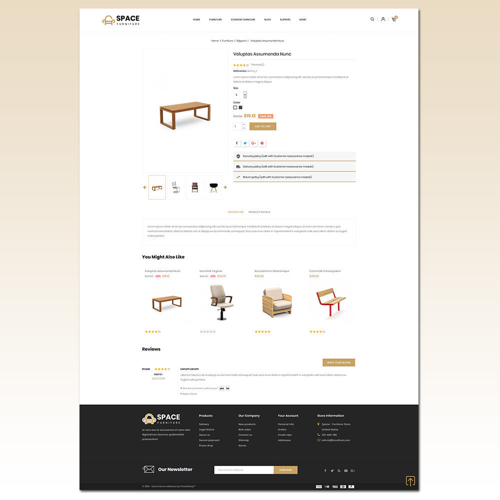 theme - Maison & Jardin - Space - Online Furniture Store - 5