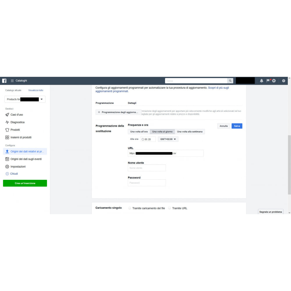 module - Prodotti sui Facebook & Social Network - Generatore feed per social network (Tagga i prodotti!) - 4