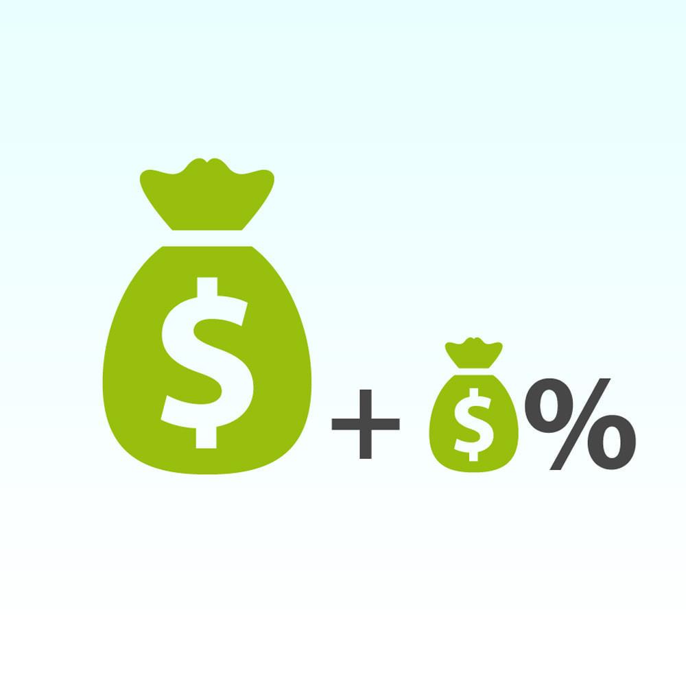 module - Pago a la Entrega (contrarrembolso) - Comisión de los métodos de pago Pago con tarifa - 1