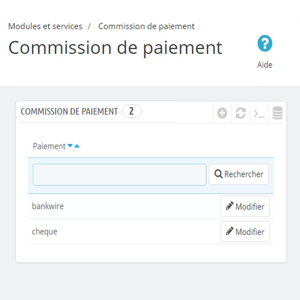 module - Paiement à la Livraison (COD) - Commission des méthodes de paiement Paiement avec frais - 7