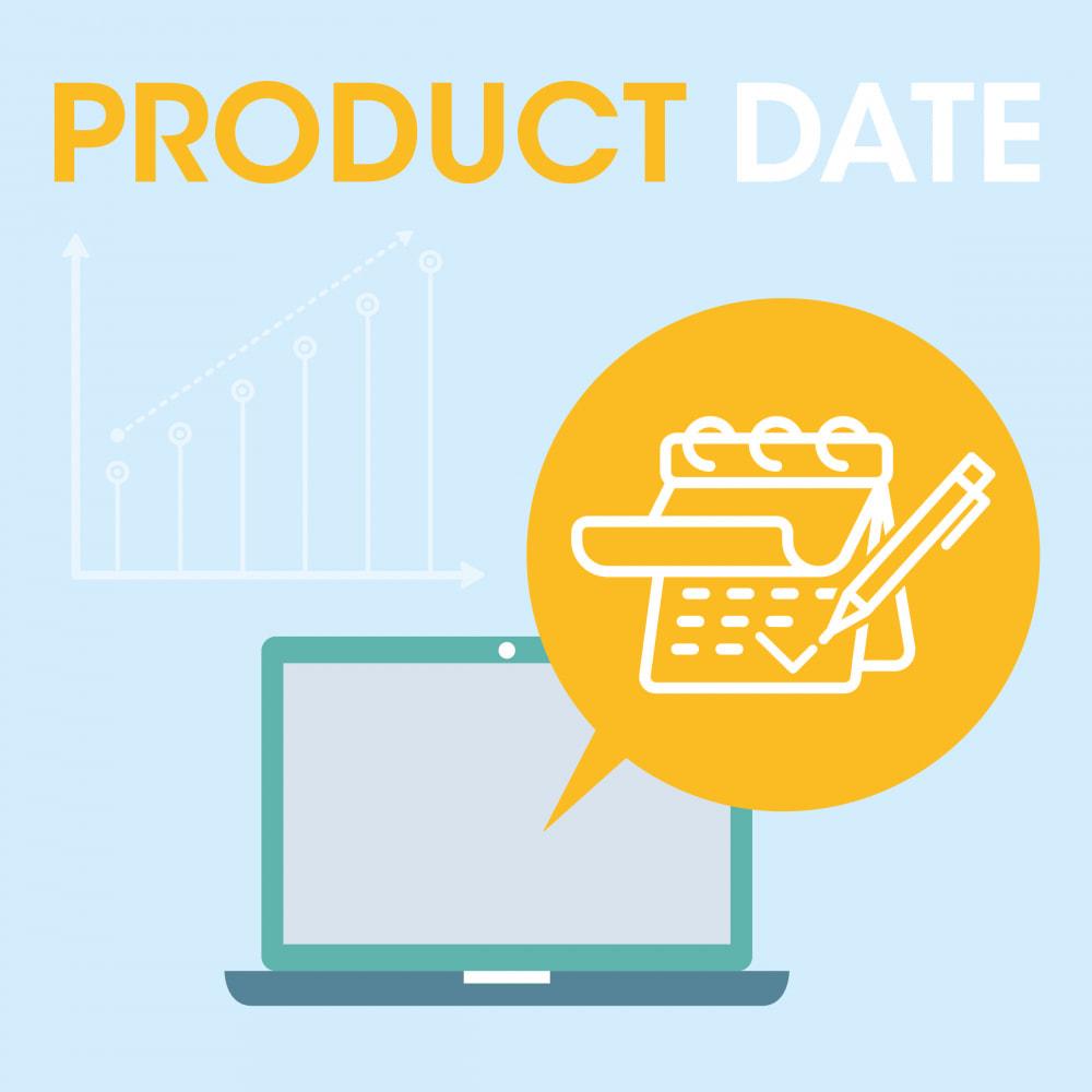 module - Bijkomende Informatie - Product Date - 1