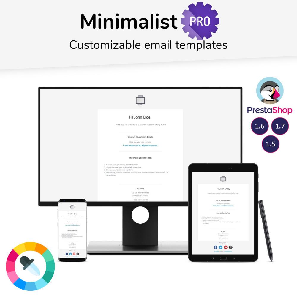 email - PrestaShop-E-Mail-Vorlagen - Minimalist Pro - Email templates - 1