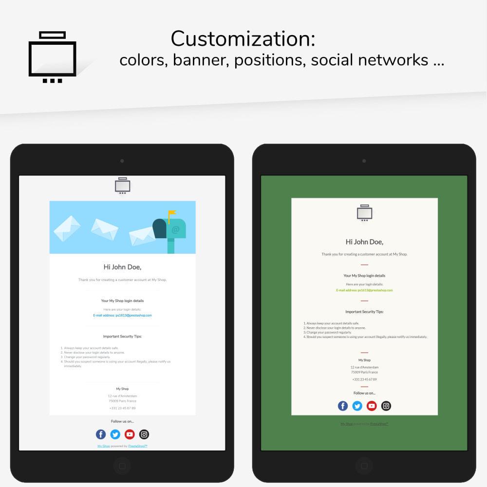 email - PrestaShop-E-Mail-Vorlagen - Minimalist Pro - Email templates - 2