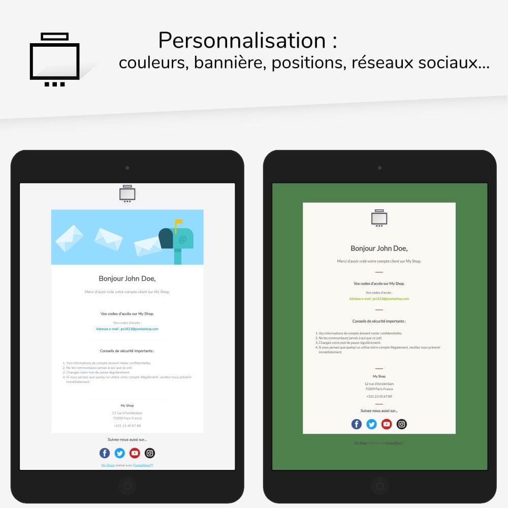 email - Templates d'e-mails PrestaShop - Minimalist Pro - templates d'e-mails - 2