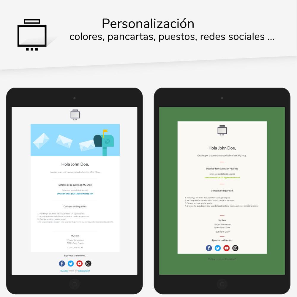 email - Plantillas de correos electrónicos PrestaShop - Minimalist Pro - Plantilla de correos electrónicos - 2