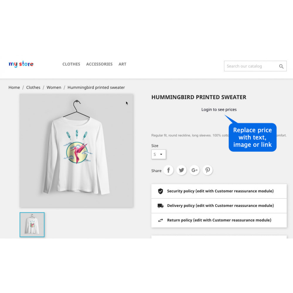 module - Registration & Ordering Process - Hide Price Pro: Hide Price & Add to Cart Button - 3
