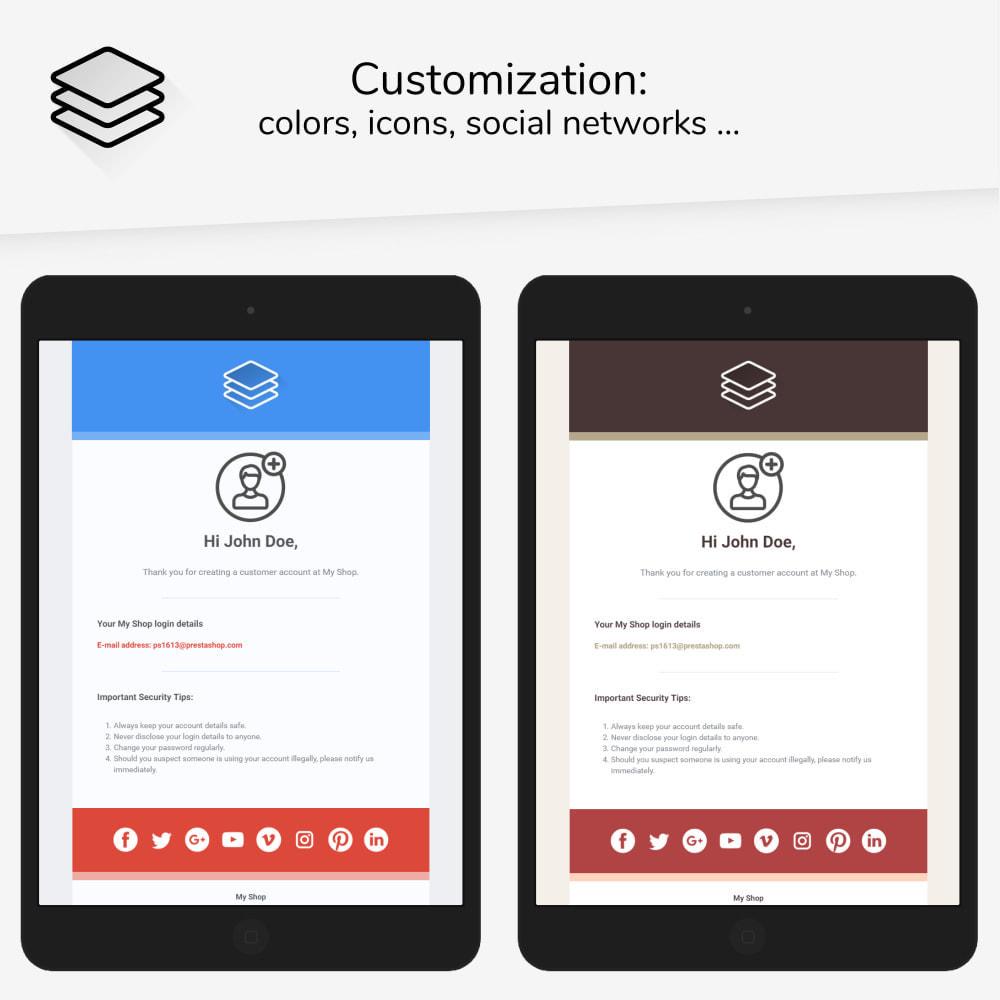 email - E-mailtemplates van PrestaShop - Layers - Email templates - 2