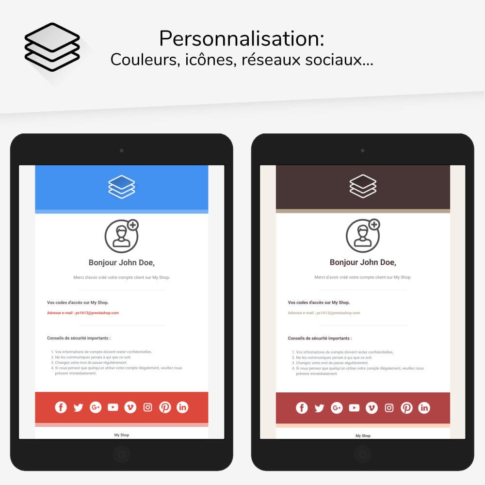 email - Templates d'e-mails PrestaShop - Layers - templates d'e-mails - 2