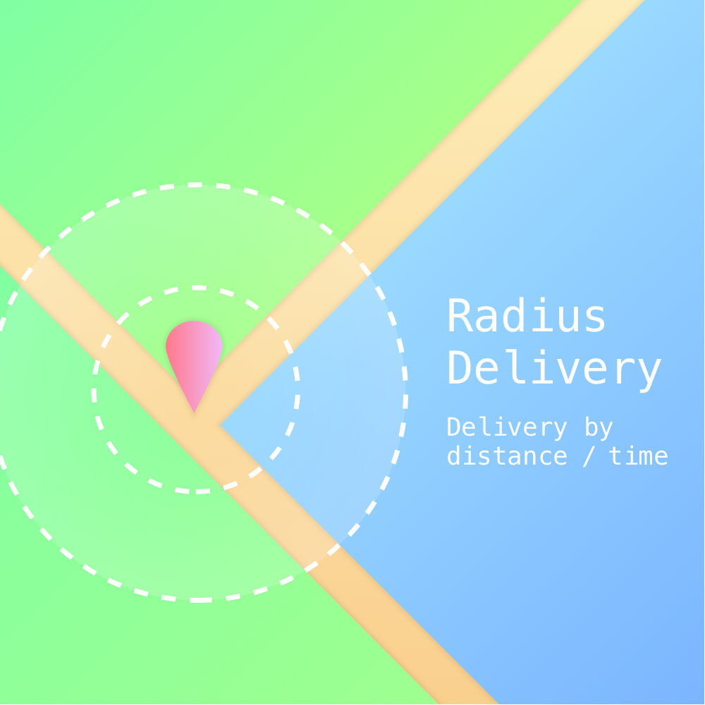 module - Versanddienstleister - RadiusDelivery: Delivery by distance and time - 1