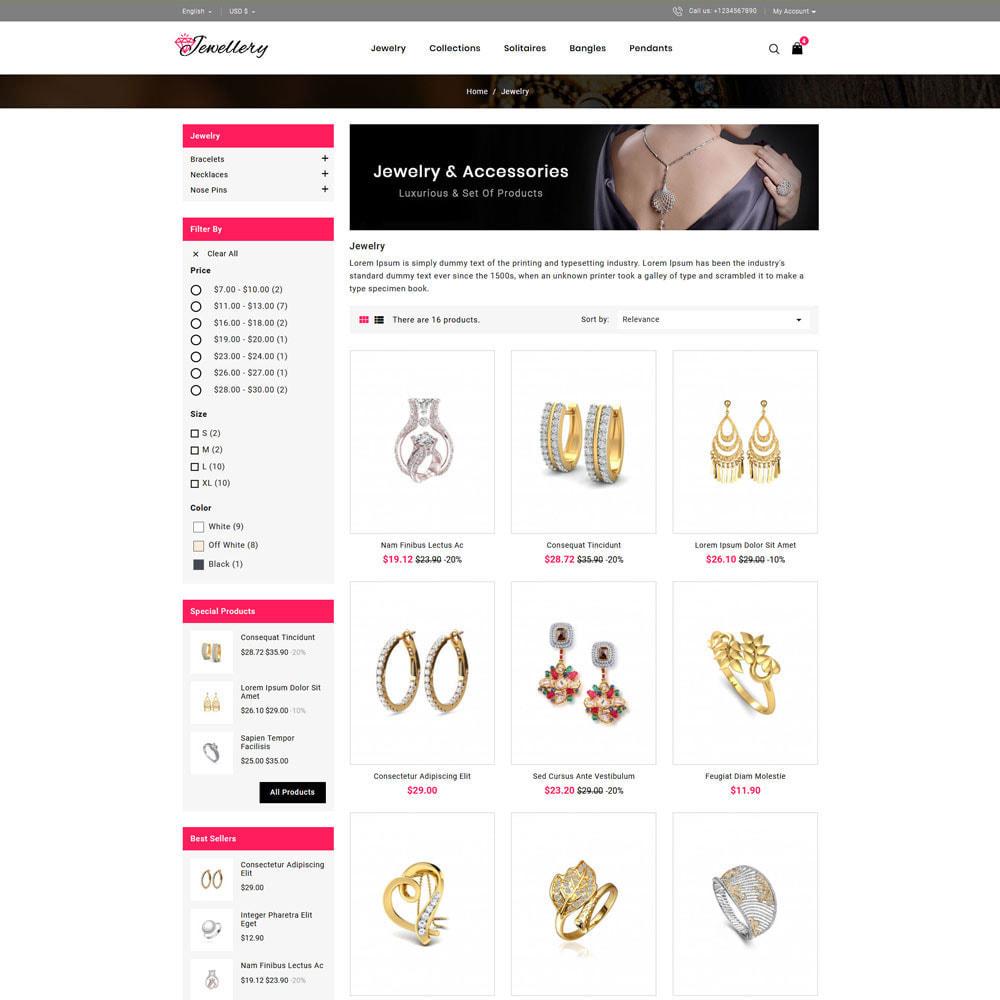 theme - Schmuck & Accesoires - Jwellery Shop - 3