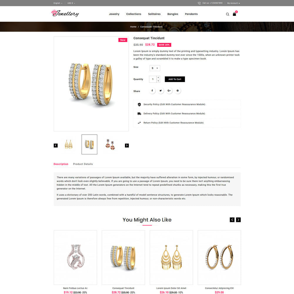theme - Schmuck & Accesoires - Jwellery Shop - 4